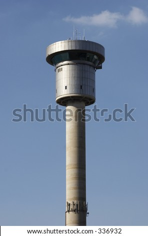 Sydney Harbour Control Tower - stock photo