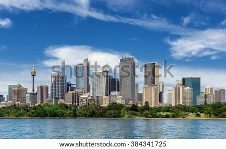 Sydney panorama  - stock photo