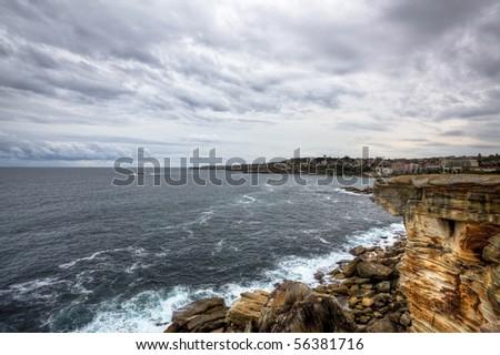 sydney shore - stock photo