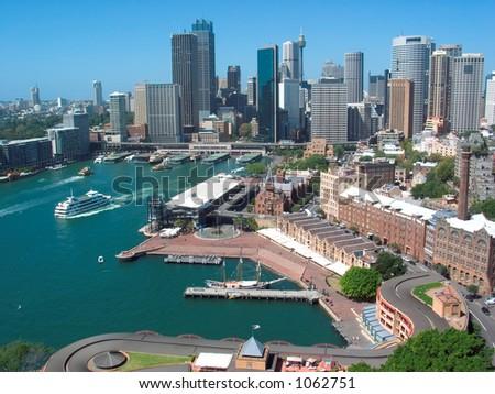 Sydney Skyline - stock photo