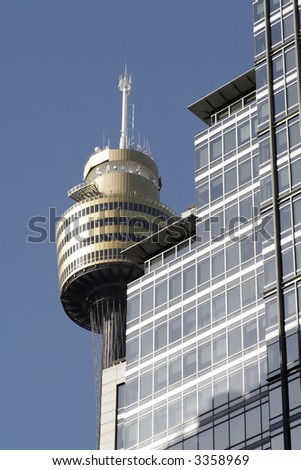 Sydney Tower, Tallest Building In The Southern Hemisphere, Australia - stock photo