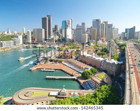 Sydney view - stock photo