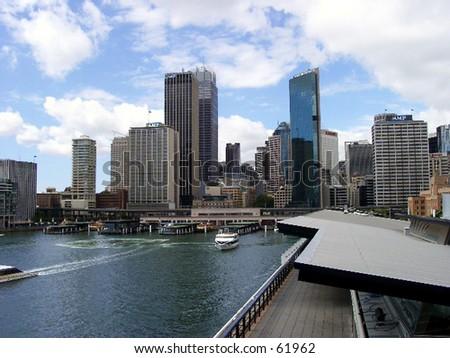 Sydney, Waterfront - stock photo
