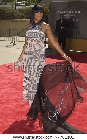 SYLEENA JOHNSON at the 9th Annual Soul Train Lady of Soul Awards in Pasadena, CA. Aug 23, 2003  Paul Smith / Featureflash