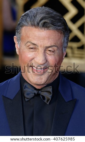 Sylvester Stallone at the 88th Annual Academy Awards held at the Dolby Theatre in Hollywood, USA on February 28, 2016. - stock photo
