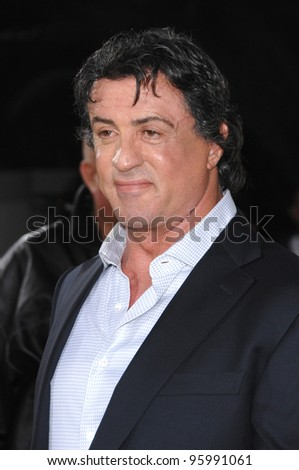 "SYLVESTER STALLONE at the world premiere of his new movie ""Rocky Balboa"" at the Grauman's Chinese Theatre, Hollywood. December 13, 2006  Los Angeles, CA Picture: Paul Smith / Featureflash"