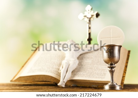 Symbol christianity religion  - stock photo