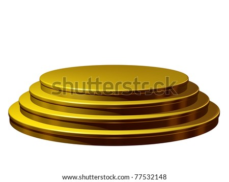 Symbol for high quality - stock photo