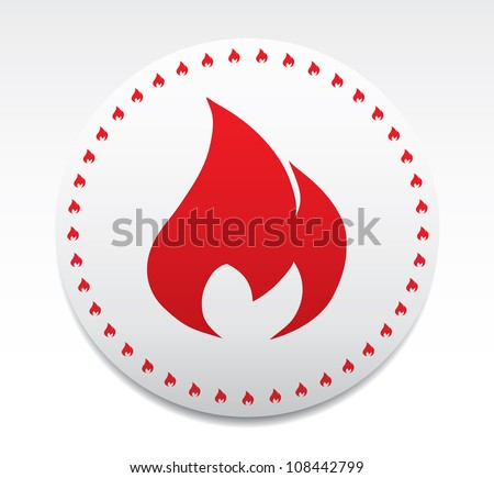 Symbol of fire.