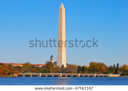 Symbol of Washington DC - stock photo