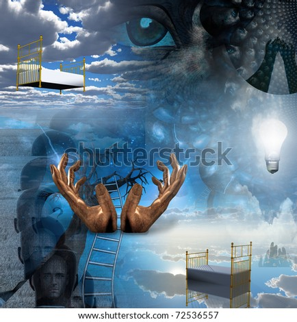 Symbolic Art - stock photo