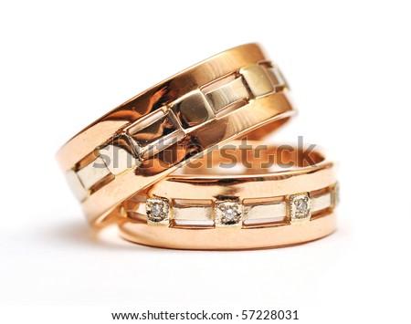 symbolic marriage - stock photo
