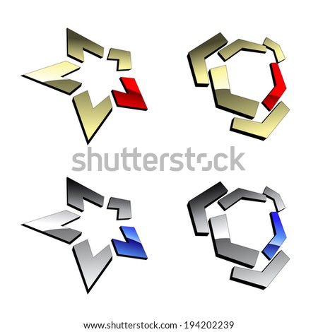 symbols - stock photo