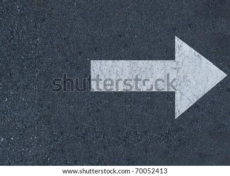 Symbols arrow - stock photo