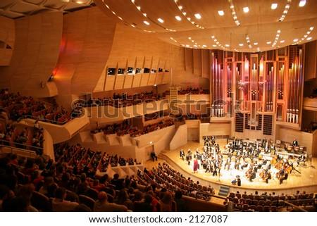 symphony orchestra 2 - stock photo