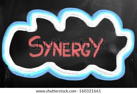 Synergy Concept - stock photo