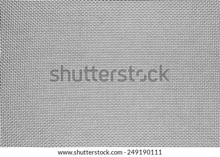Synthetic fabric with cells pattern texture background. - stock photo