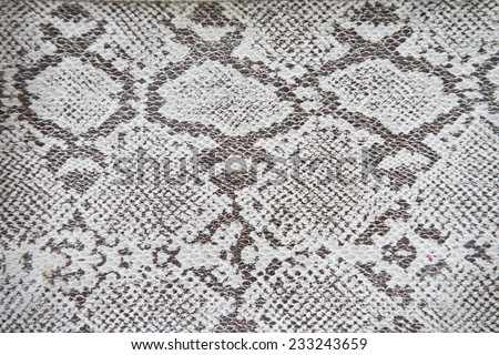synthetic leather textures background snake - stock photo