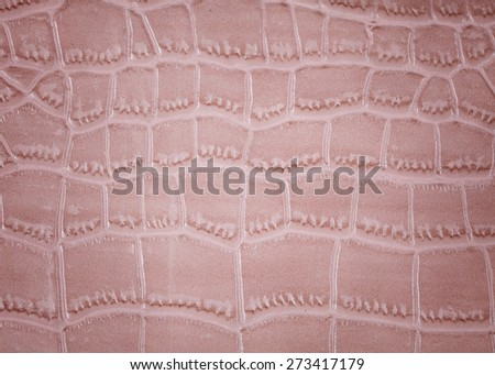 synthetic leather textures background. Synthetic Crocodile leather - stock photo