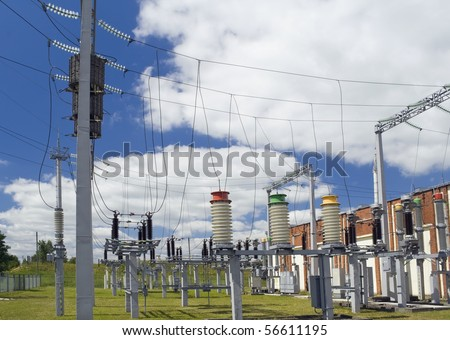 Systems of distribution and switching of power electric energy for a small city.