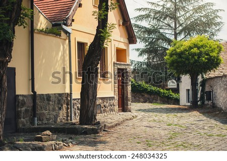 SZENTENDRE, HUNGARY,  in summer - stock photo