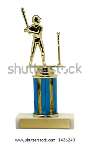 T-Ball Trophy - stock photo