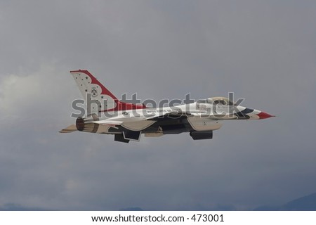 T-Bird Launch - stock photo