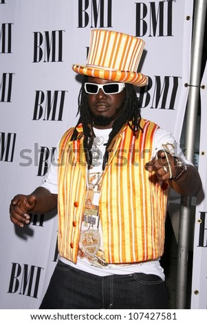 T Pain  at the 2008 BMI Urban Awards. The Wilshire Theater, Los Angeles, CA. 09-04-08