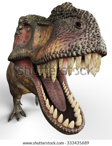 t-rex - stock photo