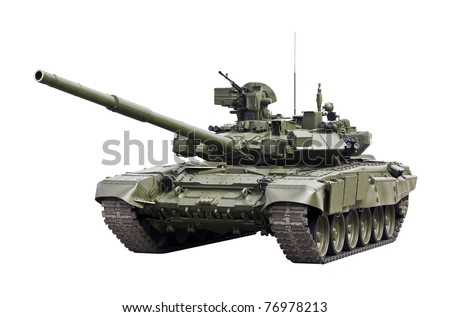 T-90S Main Battle Tank, Russia - stock photo