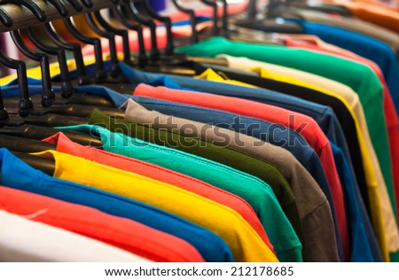 T- shirt  - stock photo