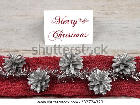 Table card - stock photo