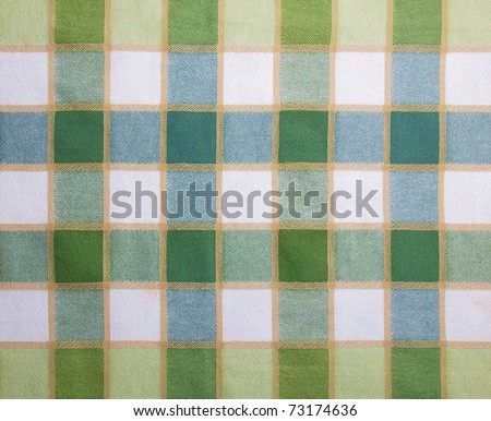 Table cloth textile fabric texture useful as a background - stock photo