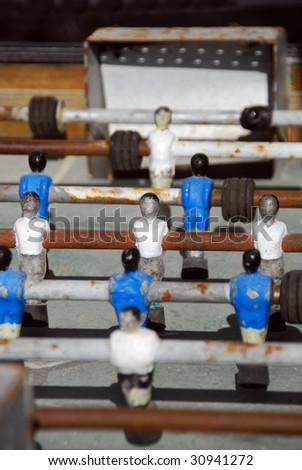 Table Football (Foosball) - stock photo