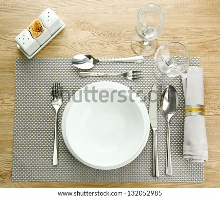 Table Setting table-setting stock images, royalty-free images & vectors