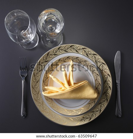 Table Set Up Stock Photos Images Pictures Shutterstock