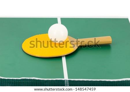 Table tennis - stock photo