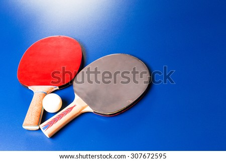 Table tennis, ping pong