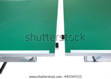 Table tennis, Ping - pong  - stock photo