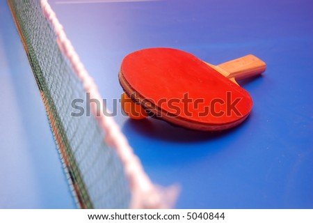 table tennis (ping pong) image - stock photo