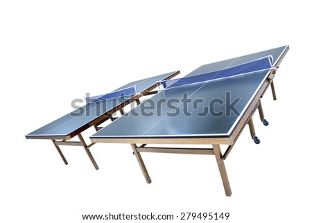 Table Tennis Table - stock photo