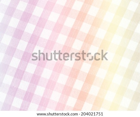 tablecloth in a cage - stock photo