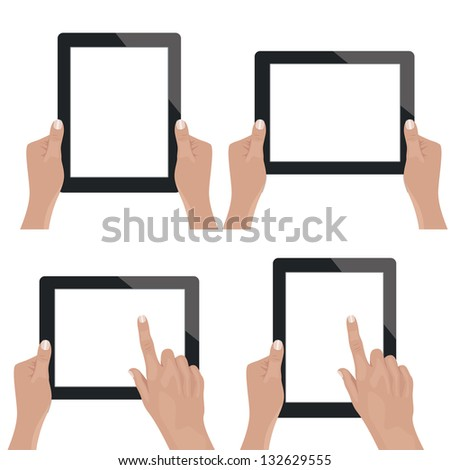 Tablet. Also available in vector.