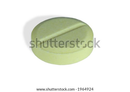tablet,close-up, isolated on white,clipping path included