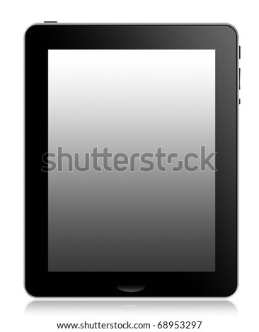 Tablet Computer or pad - stock photo