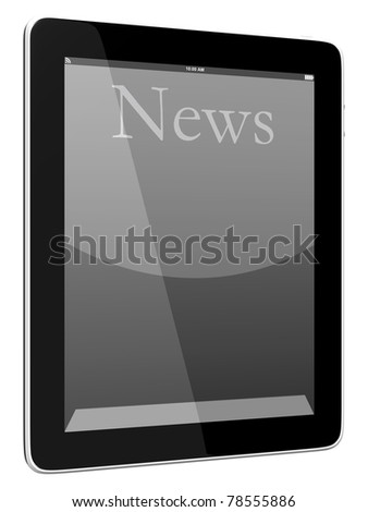Tablet PC Computer - stock photo
