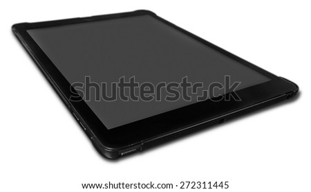 Tablet, pc, pad. - stock photo