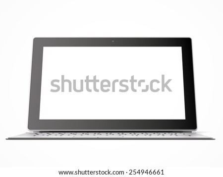 tablet PC with keyboard