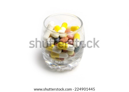 tablets as element medical help at disease - stock photo
