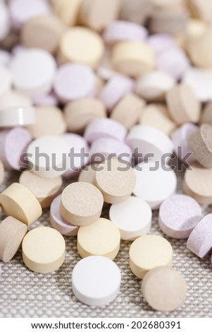 Tablets of supplements